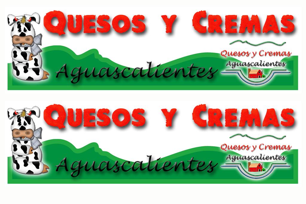 Diseño Logotipo Quesos y Cremas.