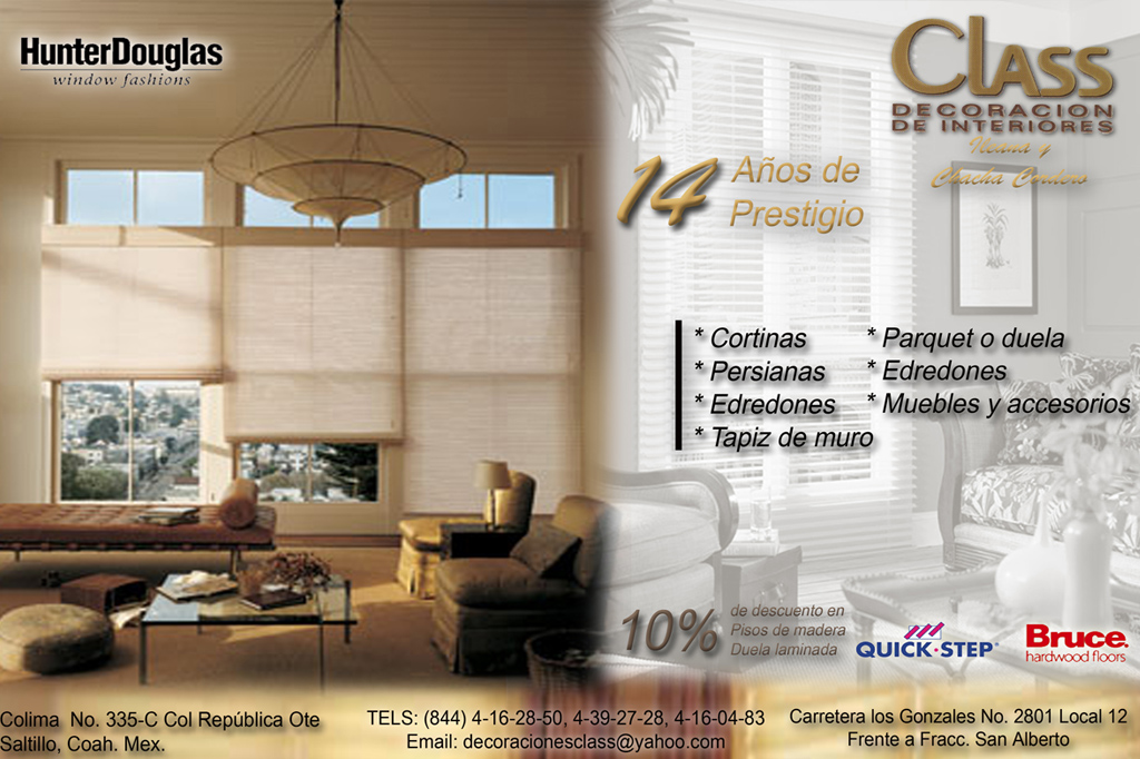 Flyer class decoraci nmouse and bear mouse and bear for Grado medio decoracion de interiores