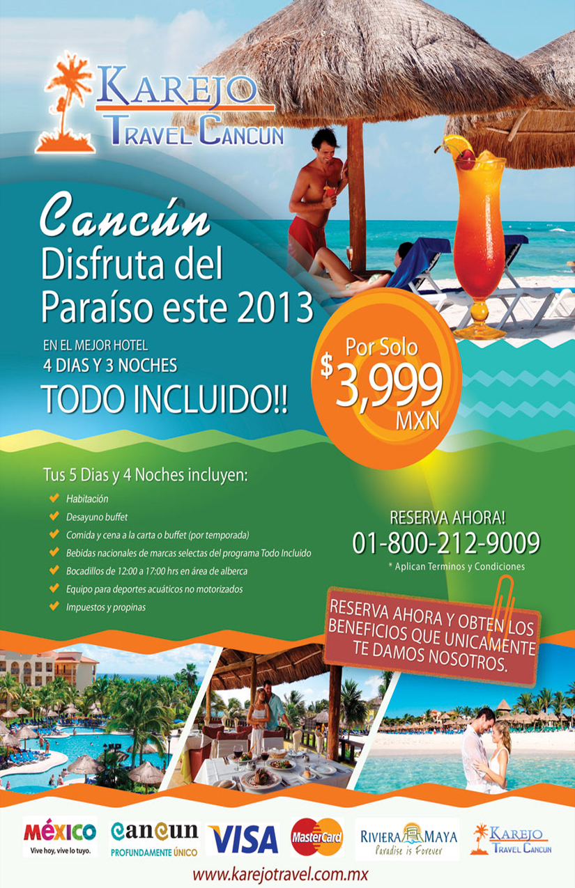 Diseño de Flyer Karejo Travel.