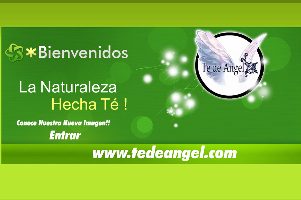 Página web Te de Angel