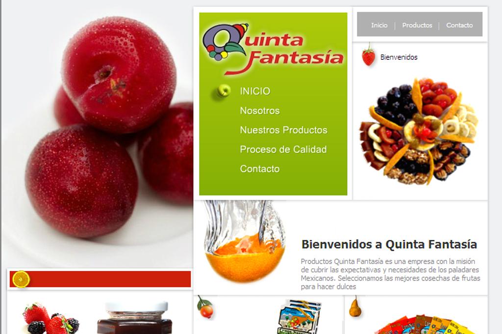 Página web Quinta Fantasía