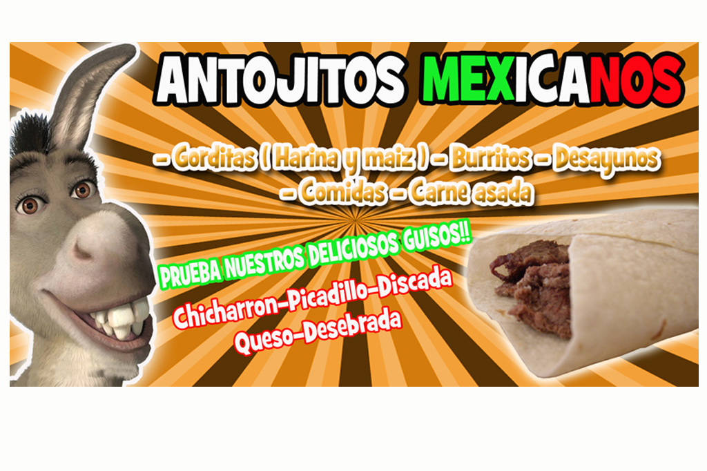 Diseño de Banner Burritos