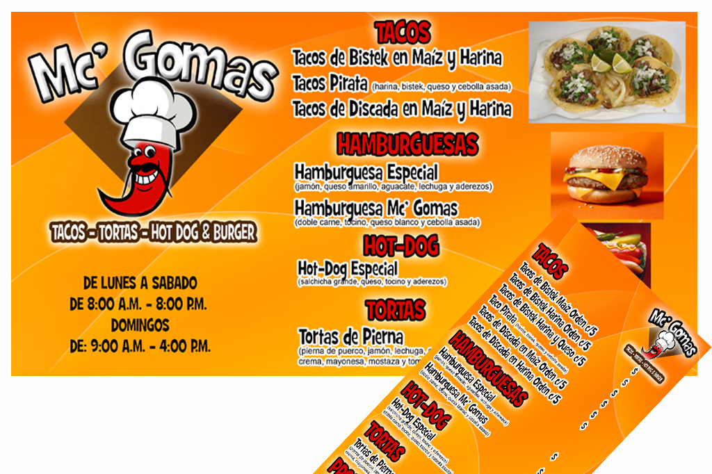 Diseño de Banner y Menu Display