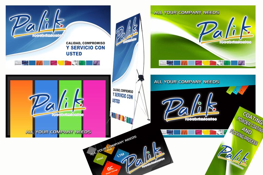 Diseño Banners y Displays Palik