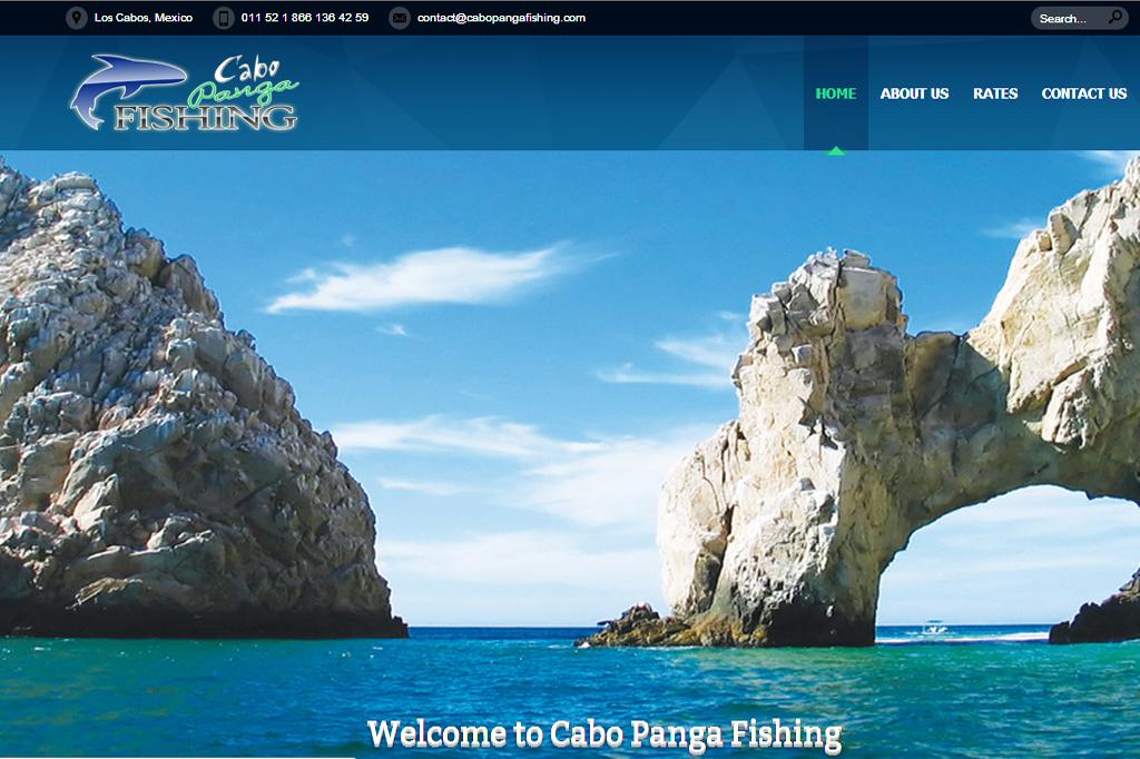 Página web Cabo Panga Fishing