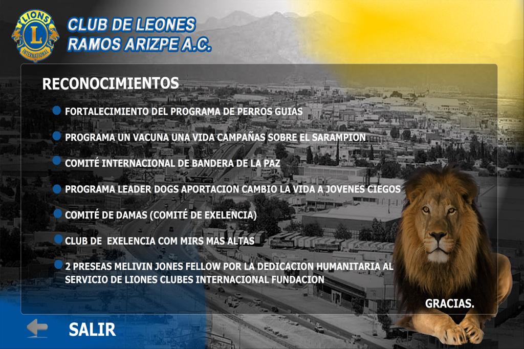 Presentación Flash Club de Leones