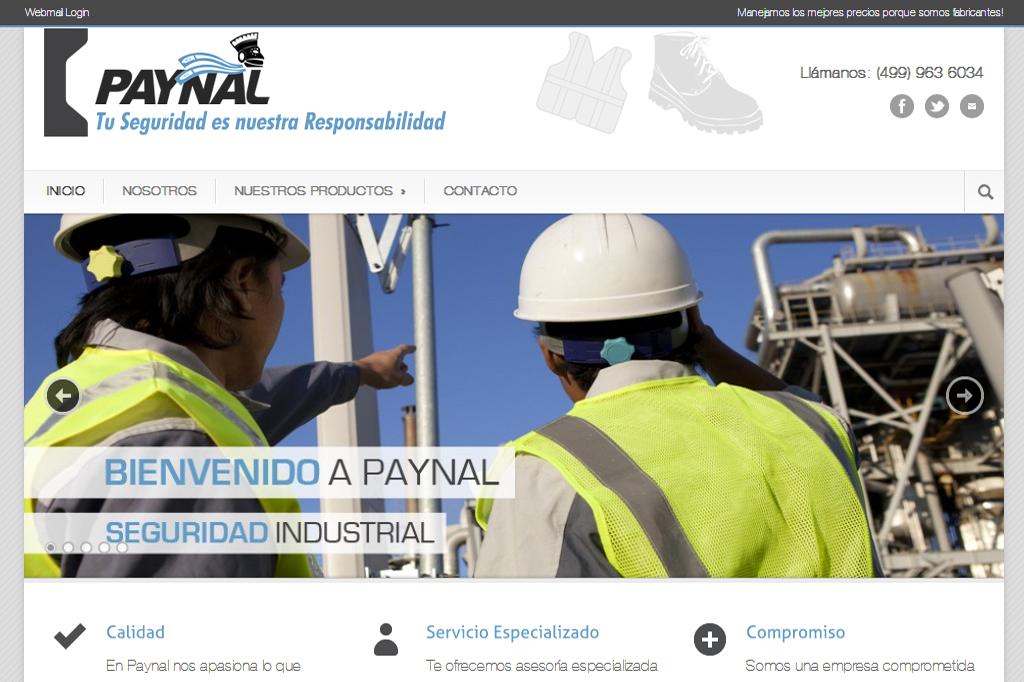 Página web Paynal