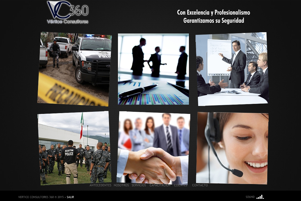 Presentación Flash Vértice Consultores