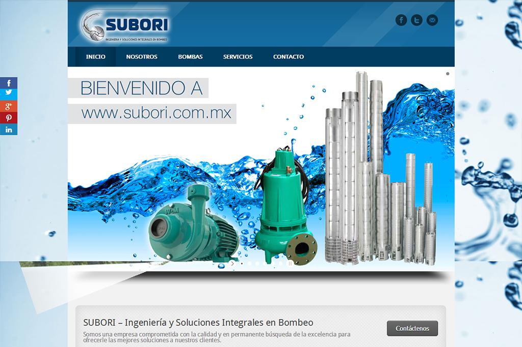 Página web Subori