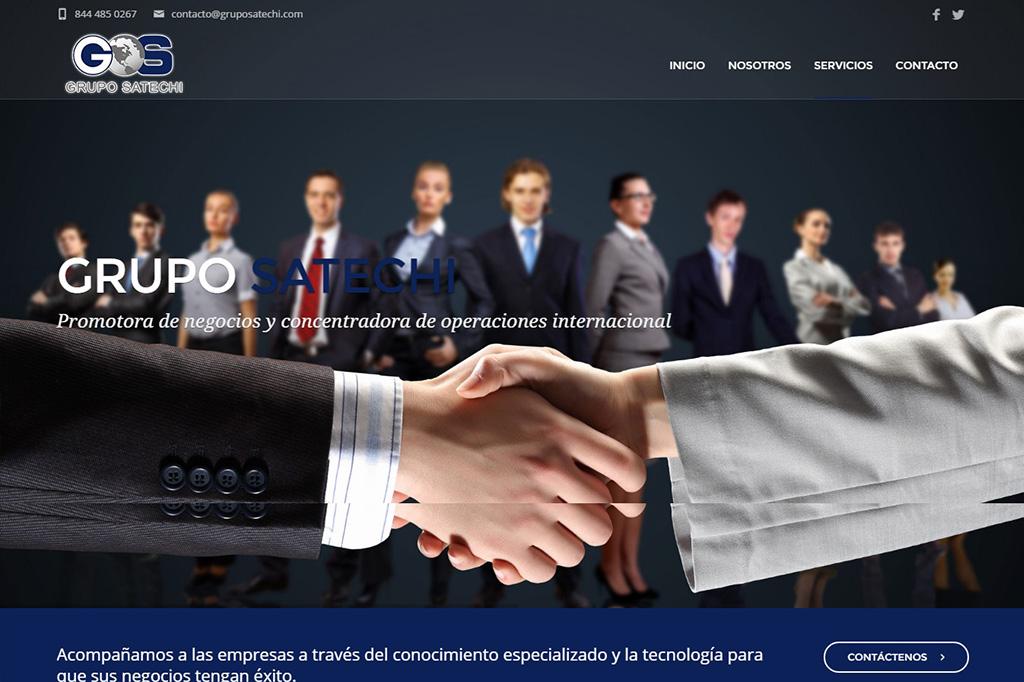Página web Grupo Satechi