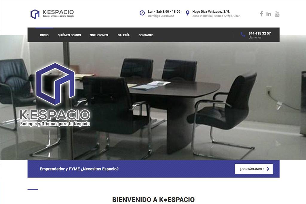 Página web Kespacio