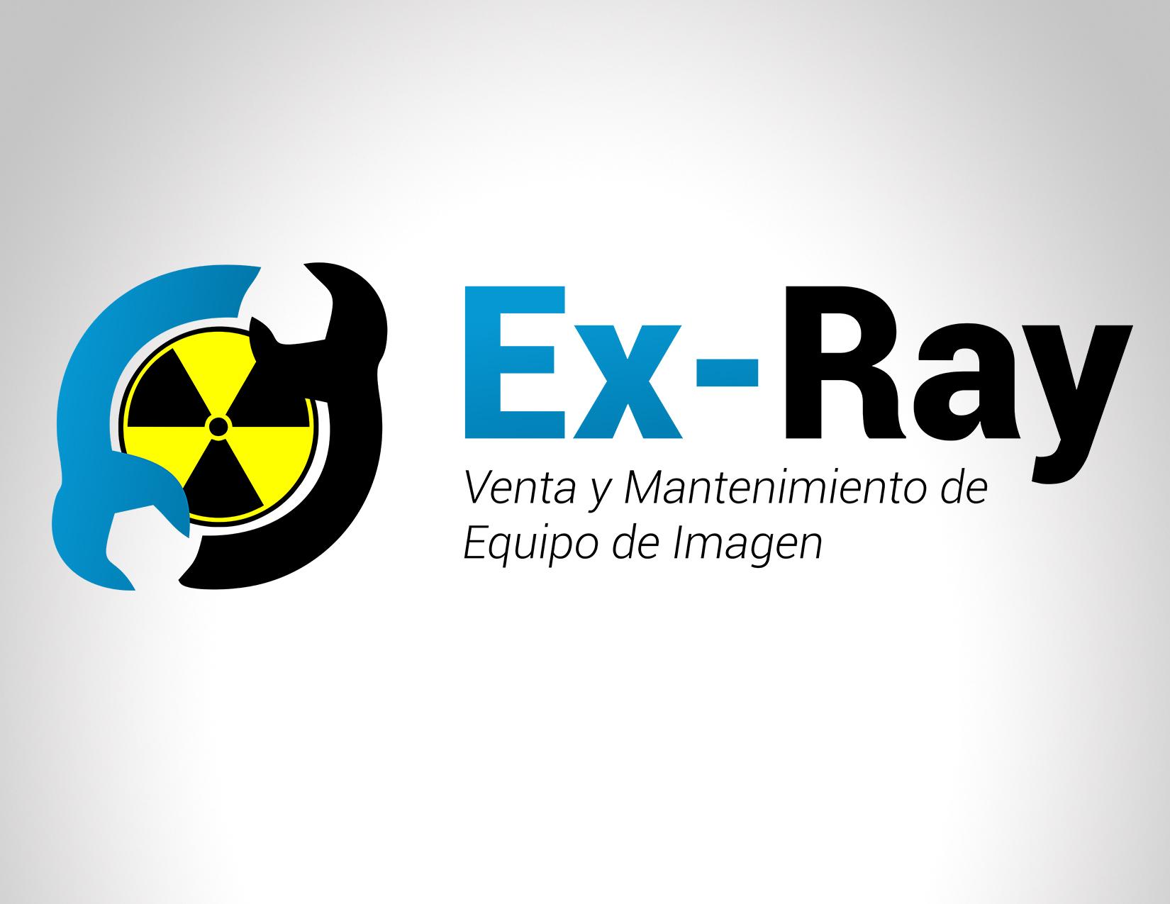 Diseño Logo Ex – Ray