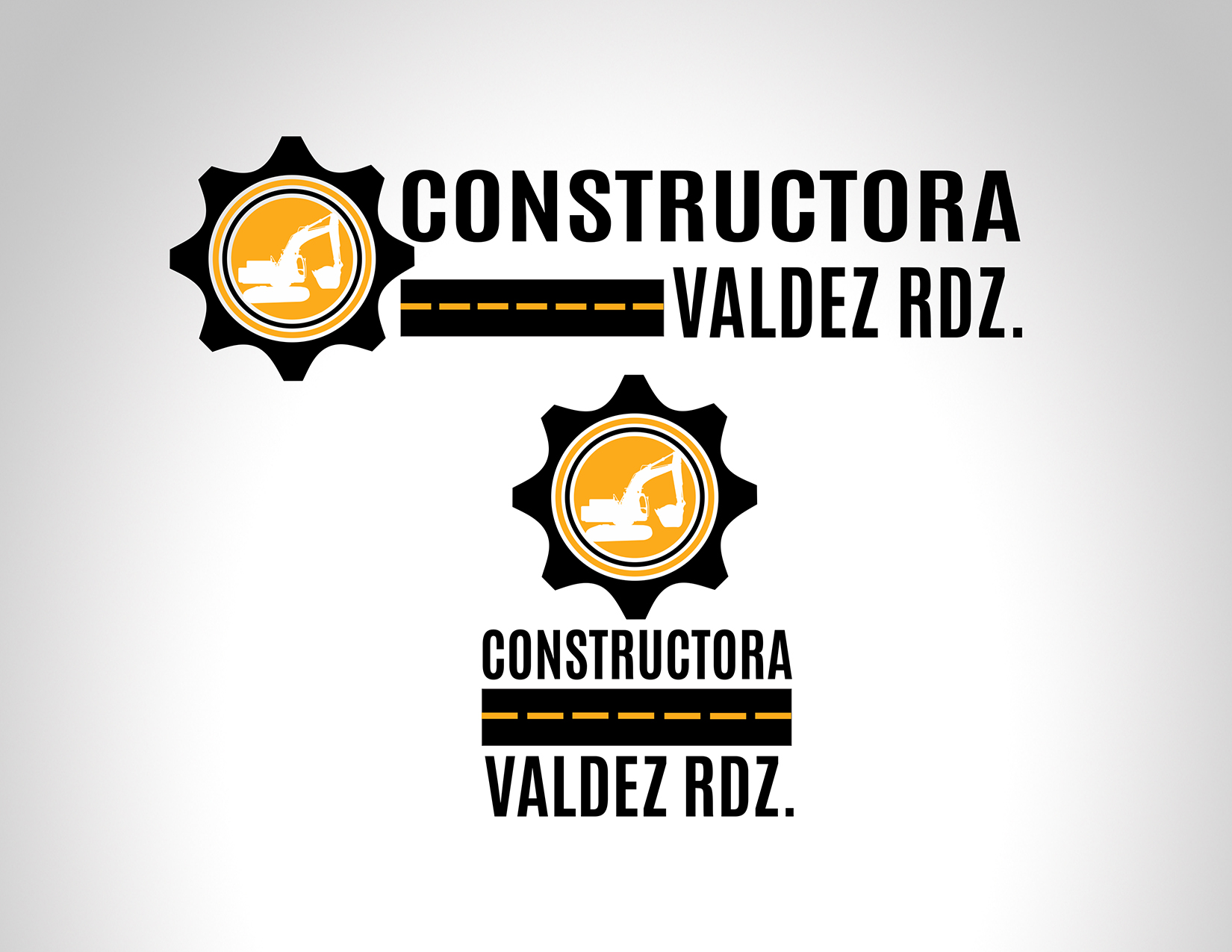 Diseño Logo Constructora Valdez