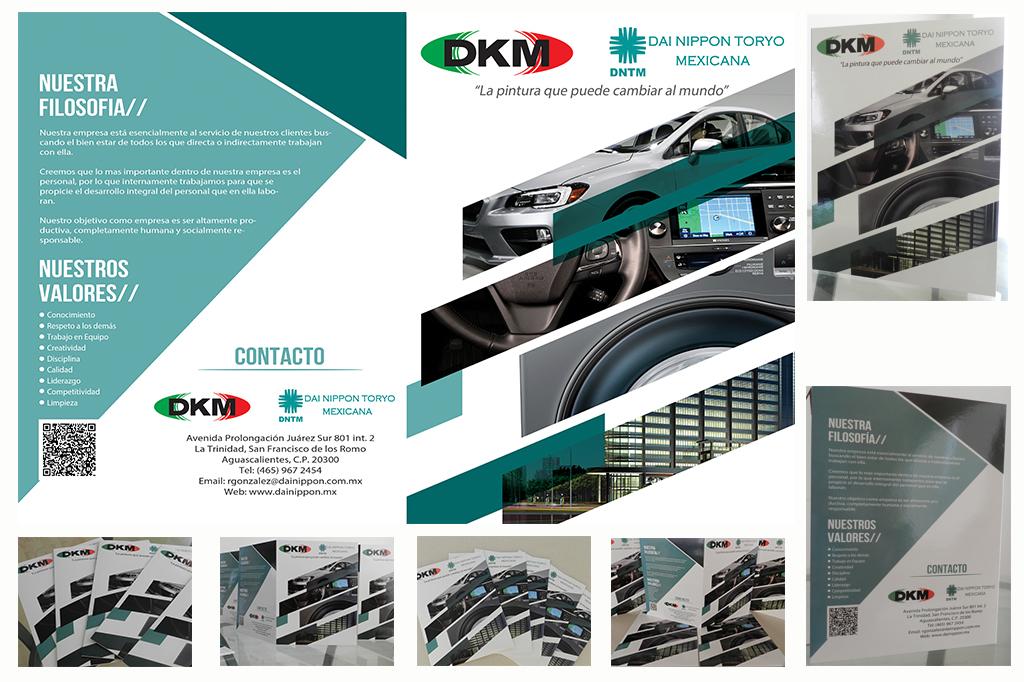Diseño de Folder Empresarial