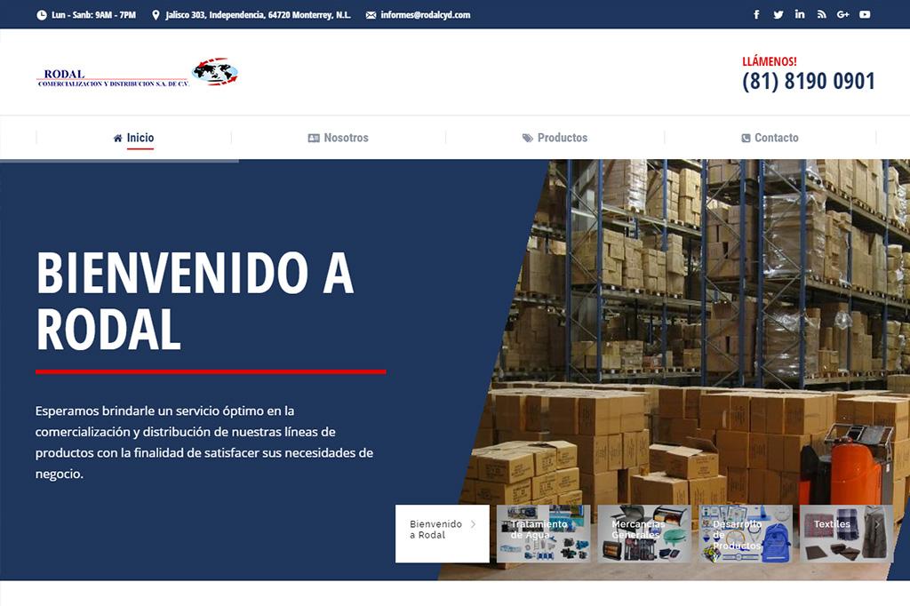 Página web Rodal