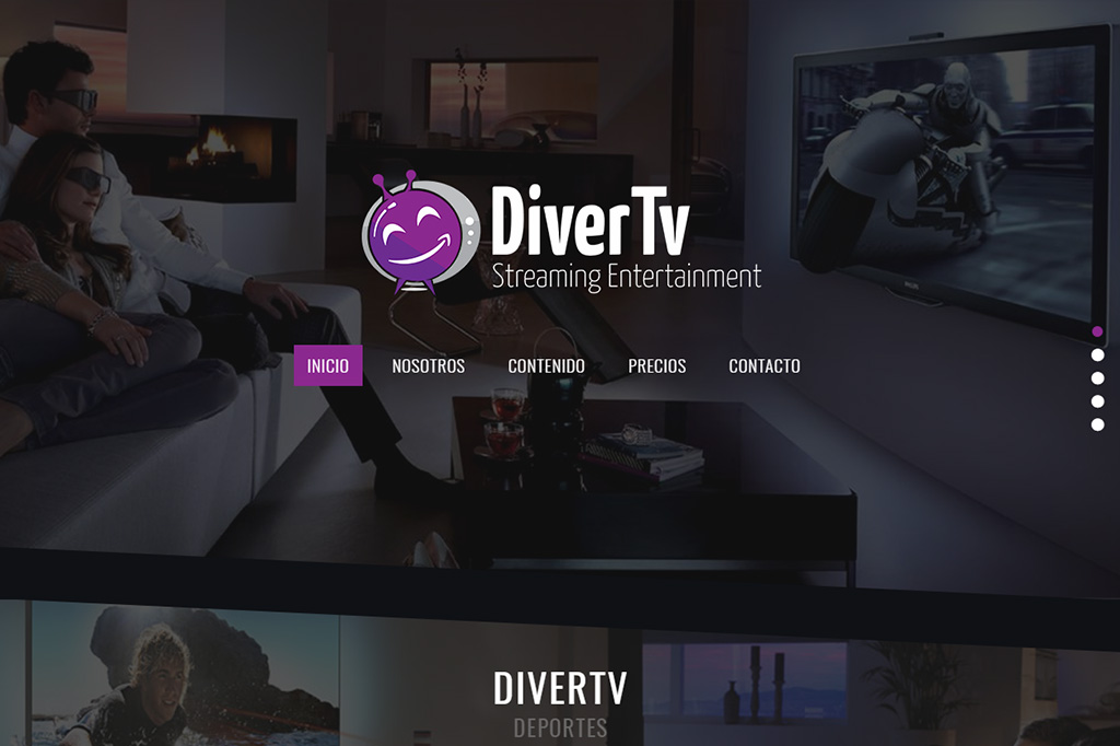 Página web DiverTv