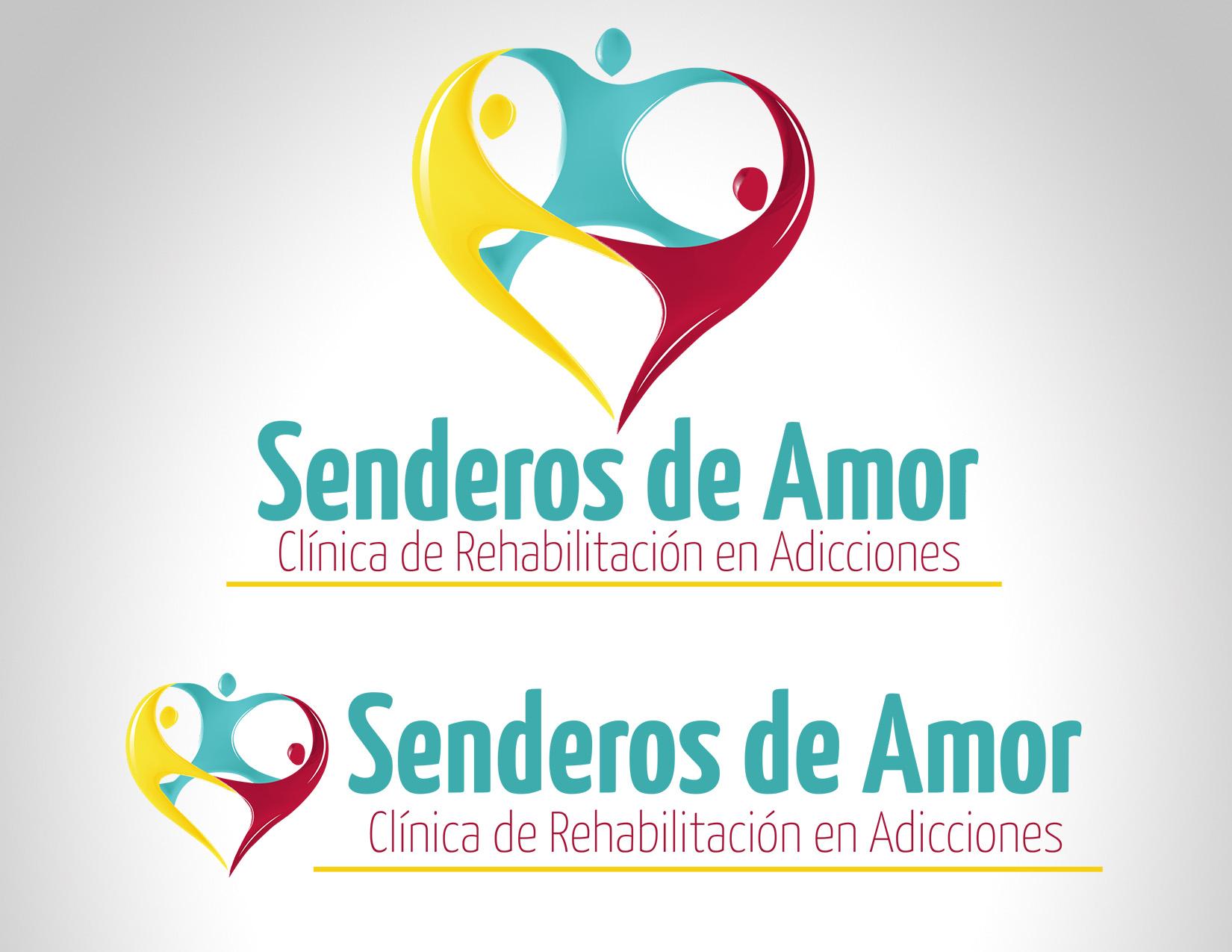 Diseño Logo Senderos de Amor