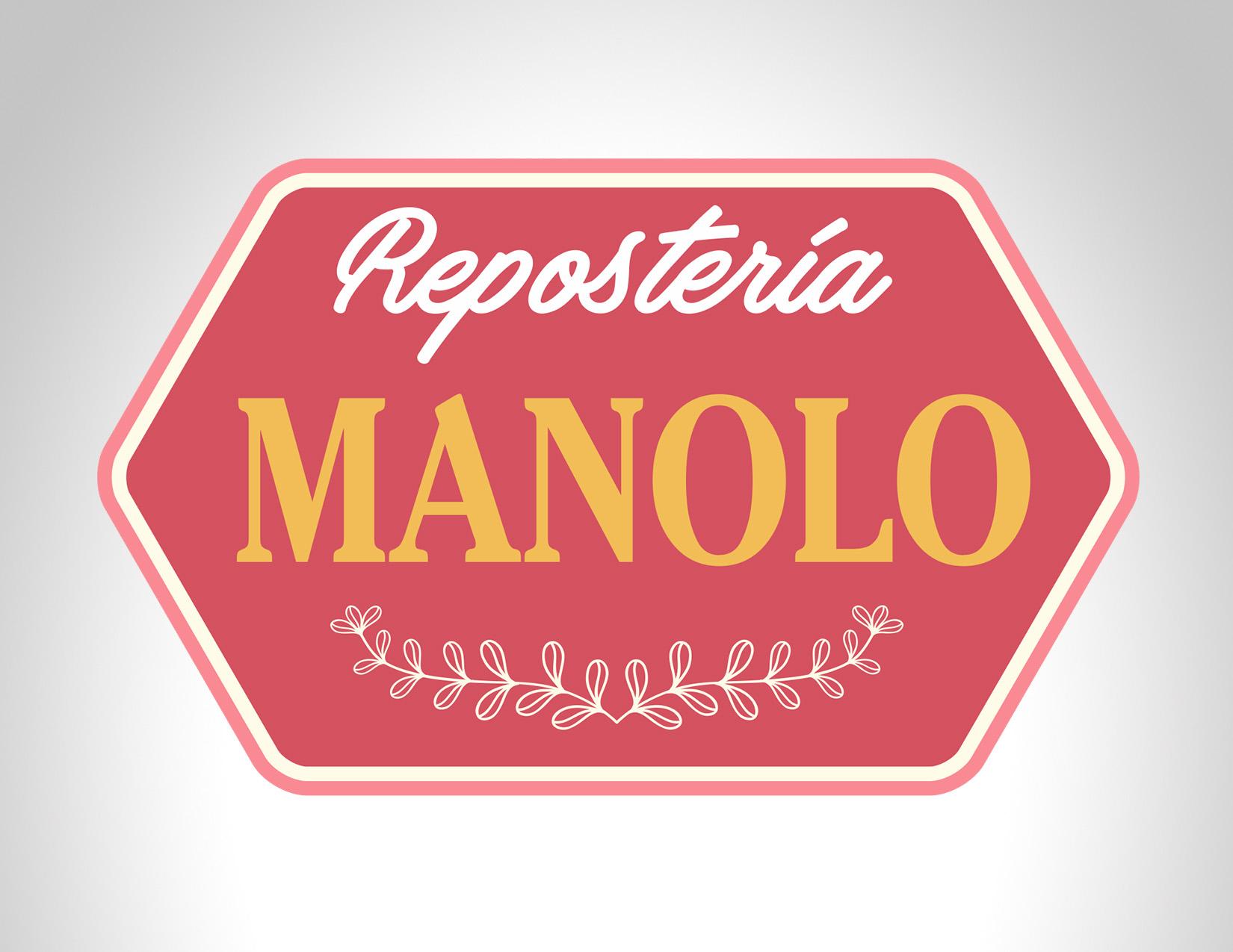 Diseño Logo Manolo Repostería