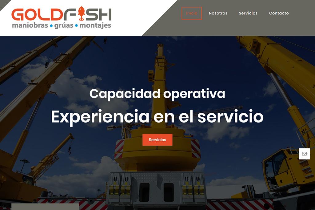 Página web GoldFish