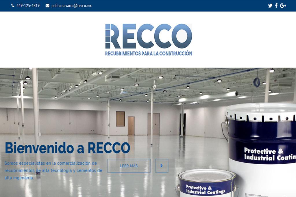 Página web RECCO