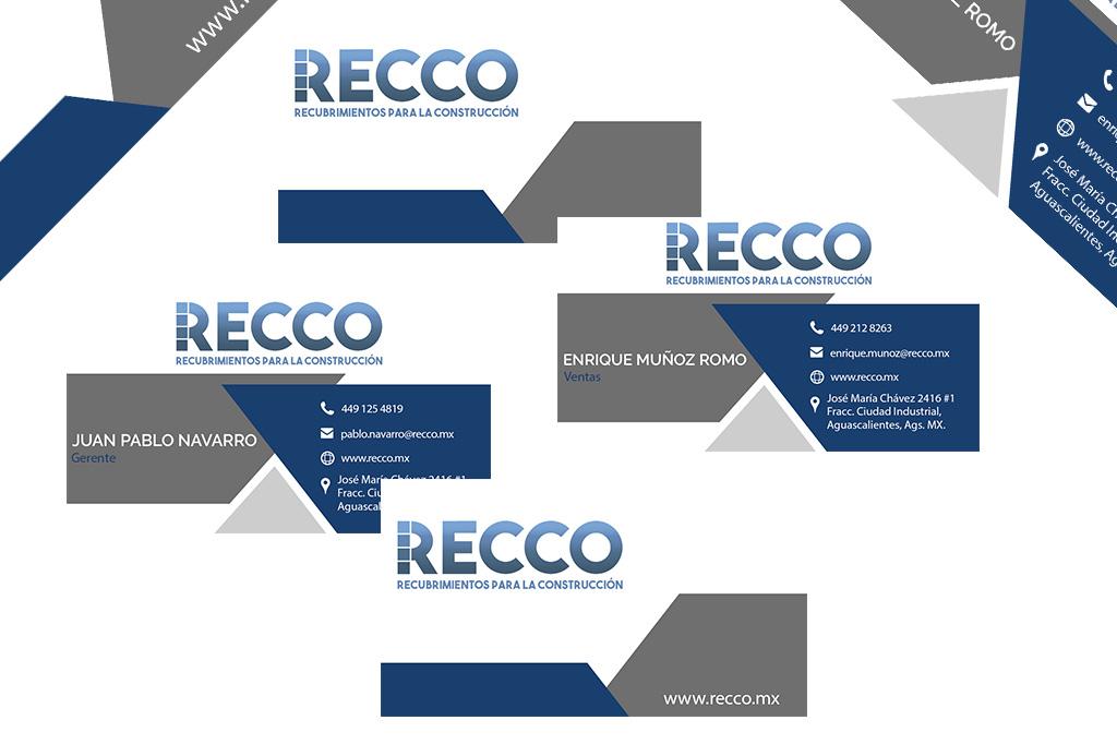 Diseño Tarjetas RECCO
