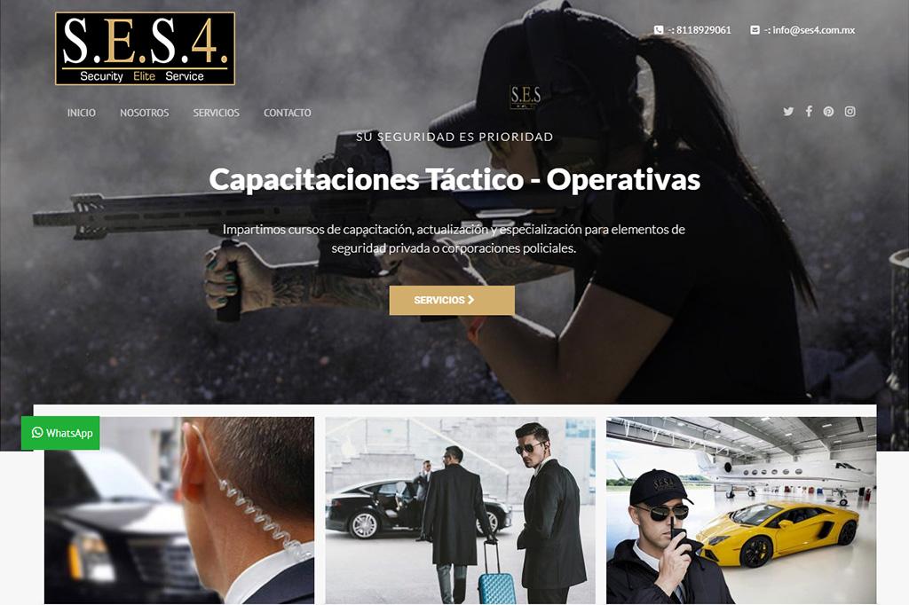 Página web SES4