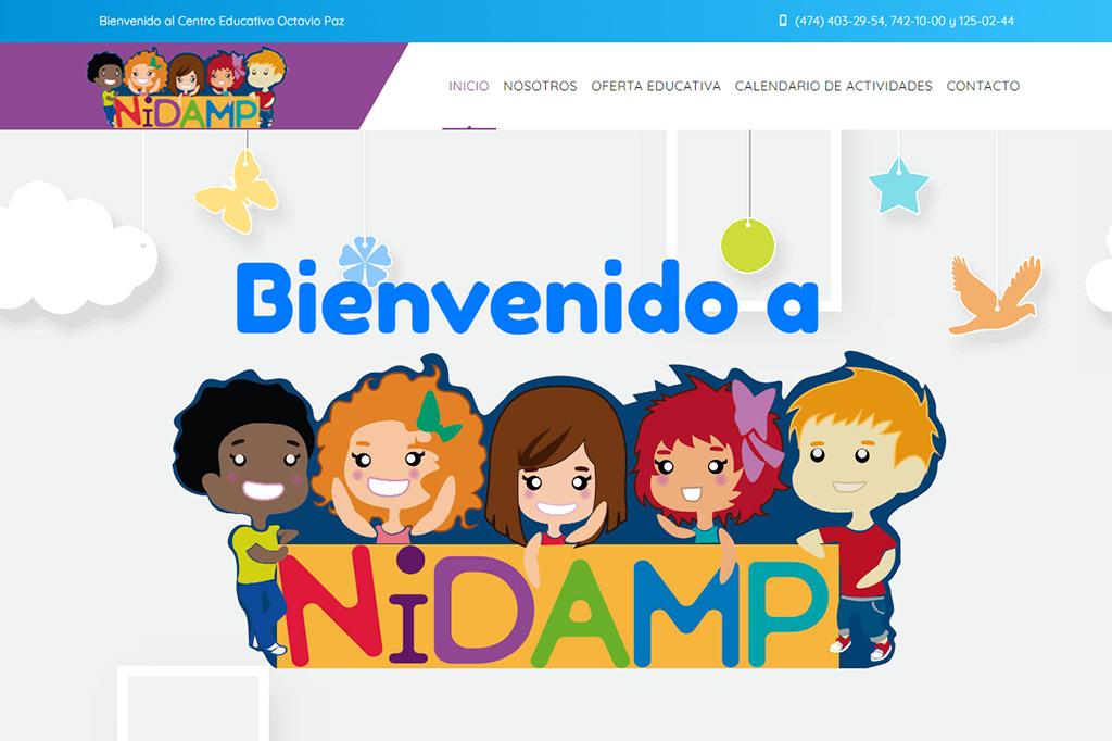 Página web Guardería Octavio Paz