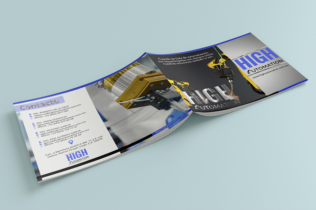 Diseño Brochure High Automation