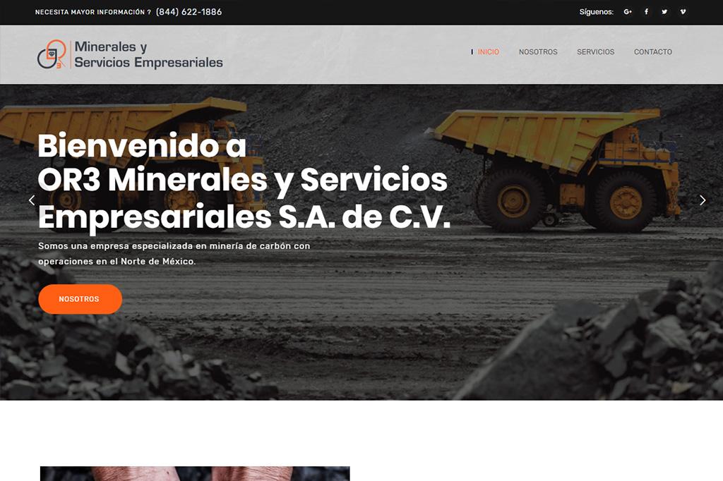 Página web OR3